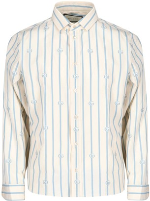 Gucci Boxy Striped Shirt