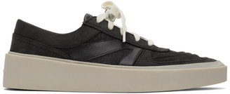 Fear Of God Black and Grey Skate Low Sneakers