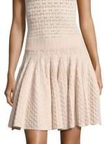 A.L.C. Lana Pointelle-Knit Skirt
