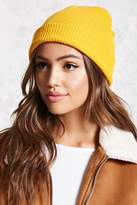 Forever 21 Ribbed Knit Beanie