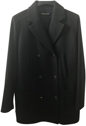 Vanessa Seward Navy Wool Coat for Women