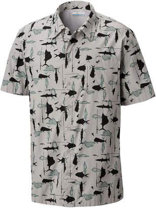 Columbia Men Pfg Trollers Best Short Sleeve Shirt