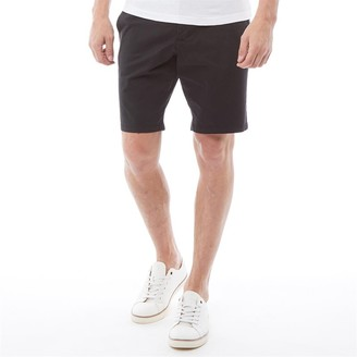French Connection Mens Chino 2 Shorts Marine Blue