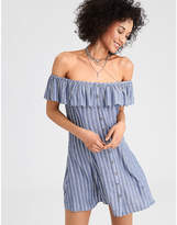 American Eagle AE Printed Off-The-Shoulder Dress