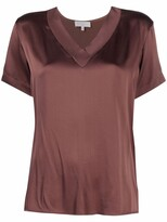 Thumbnail for your product : Antonelli V-neck satin blouse
