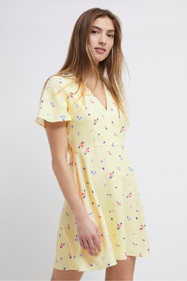French Connection Frida Armoise Crepe Floral Dress