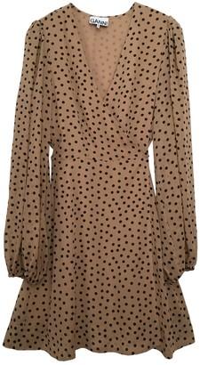 Ganni Spring Summer 2020 Beige Viscose Dresses