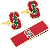 Cufflinks Inc. Men's Stanford University Cufflinks/Money Clip Gift Set