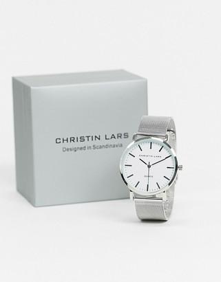 Christin Lars silver watch