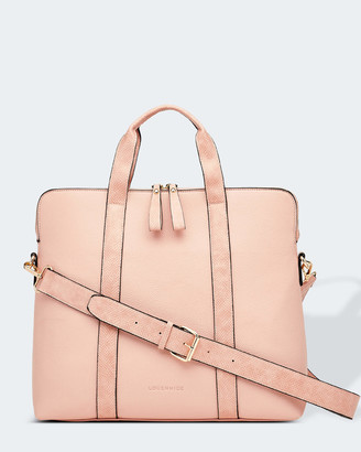 Louenhide - Women's Pink Laptop Bags - Rhodes Laptop Bag - Size One Size at The Iconic