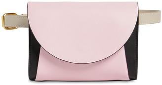 Marni Law Color Block Leather Belt Bag