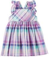 Osh Kosh 2-Piece Plaid Ruffle Dress