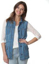Chaps Women's Jean Vest