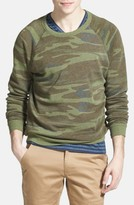 Alternative Men's 'The Champ' Camo Print Crewneck Sweatshirt
