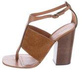 Celine Crosta T-Strap Sandals