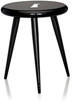 Fornasetti Serrature Three-Legged Bocca Stool