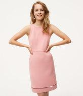 LOFT Cutout Pocket Sheath Dress