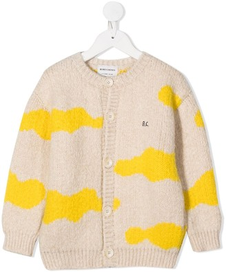 Bobo Choses Clouds Knitted Cardigan