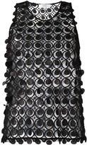 Carven geometric sheer tank - women - Polyester - 38