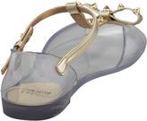 Stuart Weitzman Nifty Jelly Flat Sandal