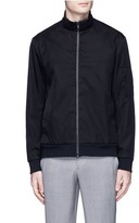 Theory 'Ronin' cotton blend twill track jacket