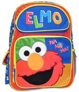 Sesame Street Backpack Elmo Ha Ha Ha Large School Bag New 054568
