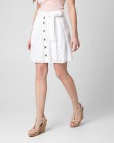 Le Château Lace Mini Skirt