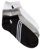 Ralph Lauren Women's 3-Pack Tech Ankle Socks