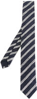 Eleventy woven stripe tie - men - Silk - One Size