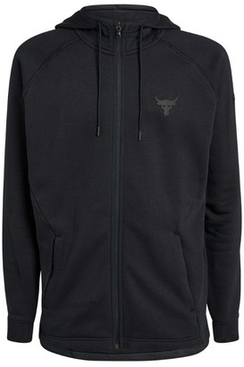 Under Armour Project Rock Fleece Zip-Up Hoodie