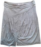 Christian Dior Grey Cotton Skirts