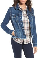 Paige Women's Rowan Destroyed Denim Jacket