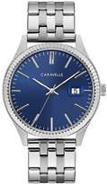 CARAVELLE Caravelle Mens Silver Tone Bracelet Watch-43b151
