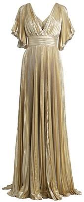 ZUHAIR MURAD Azdorando Plisse Gown
