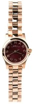 Marc by Marc Jacobs MBM3256 Maroon Rose Gold Womens Watch