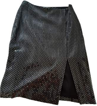 Versus Black Glitter Skirt for Women