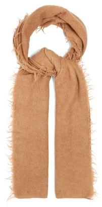 LAUREN MANOOGIAN Fringed Baby Alpaca-wool Scarf - Womens - Camel