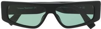Vivienne Westwood Rectangular Frame Sunglasses