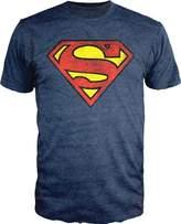 Bioworld Superman Logo Shield Heathered T-Shirt