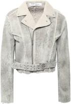 IRO Synal Shearling Biker Jacket