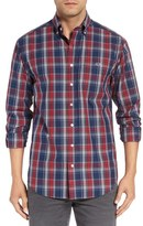 Vineyard Vines Men's 'Tucker' Classic Fit Plaid Short Shirt