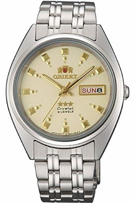 Orient Women's Analogue Automatic Watch with Stainless Steel Strap FAB00009C9