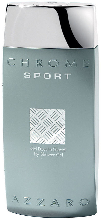 Azzaro CHROME SPORT by Icy Shower Gel, 6.7 oz