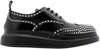Alexander McQueen Studded Lace Up Shoes