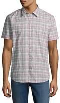John Varvatos Men's Mayfiled Printed Sportshirt