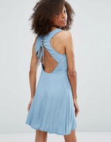 Glamorous Lace-Up Back Dress