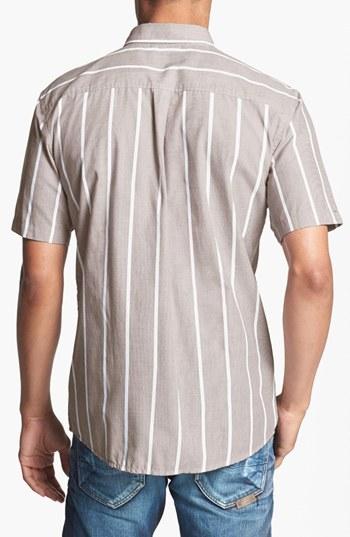 Brixton 'Baylor' Stripe Oxford Shirt