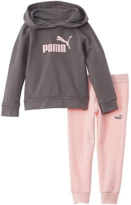Puma 2Pc Fleece Hoodie Set