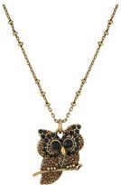 Marc Jacobs Charms Owl Pendant Necklace