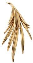 Oscar de la Renta Antiqued Palm Leaf Pin
